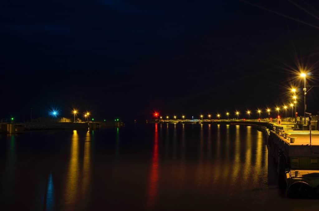 Night Harbor Light